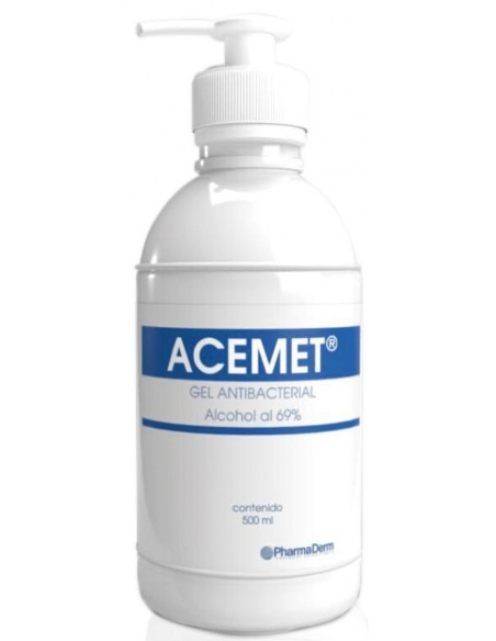 Acemet Gel Antibacterial x 500mL