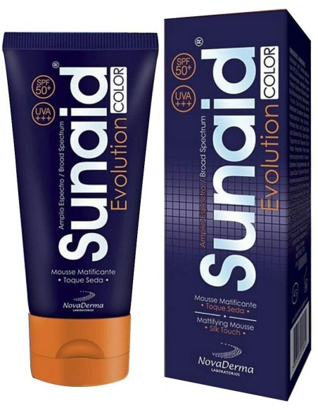 Sunaid Evolution Color SPF 50+ x 40g