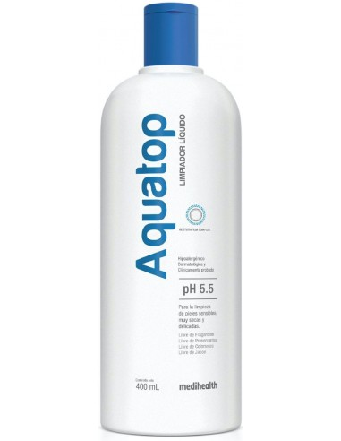 Aquatop Limpiador Líquido x 400 mL en Piel Farmacéutica