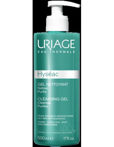 Uriage Hyséac Gel Limpiador x 500mL en Piel Farmacéutica