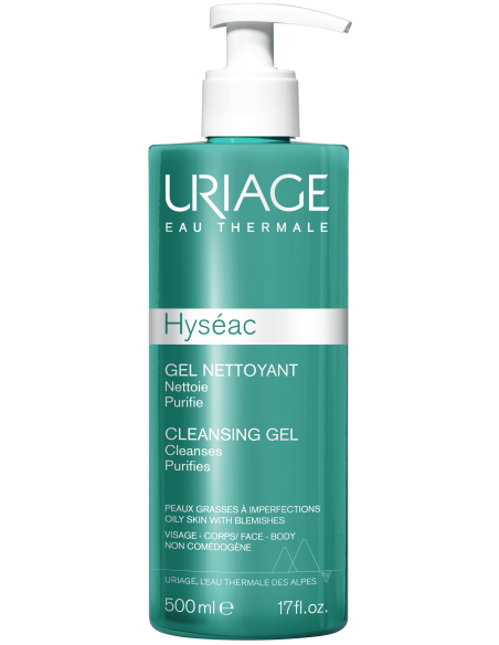Uriage Hyséac Gel Limpiador x 500mL