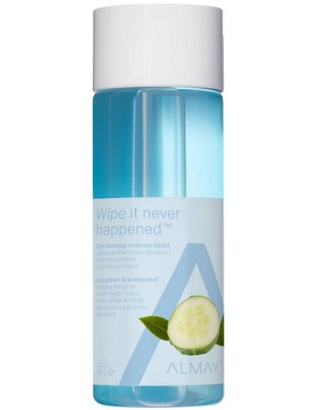 Almay Desmaquillante Líquido de Ojos Wipe It Never Happened x 118mL