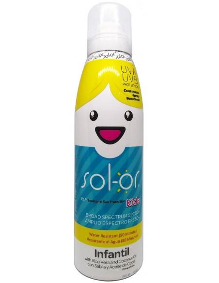 Solor Kids Resistente al Agua SPF 50+ x 177mL