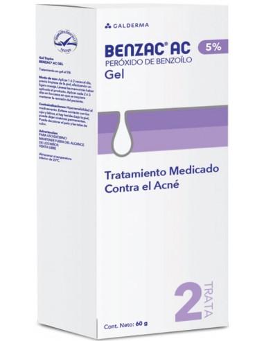 Benzac AC 5% x 60g en Piel Farmacéutica